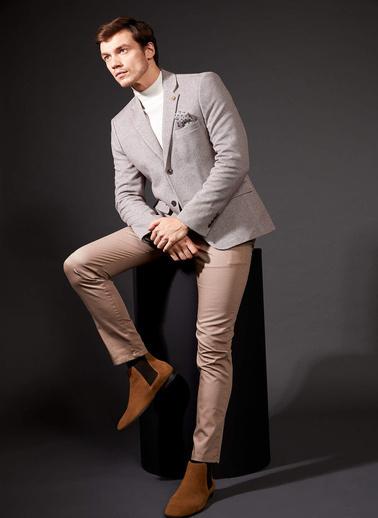 DeFacto Slim Fit Basic Chino Pantolon Bej